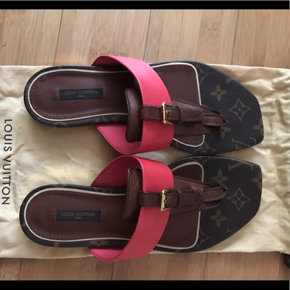 Louis Vuitton Shoes - Louis Vuitton Flat Sandals
